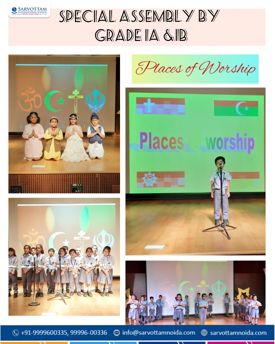 Special Assembly by Grade 1A & 1B