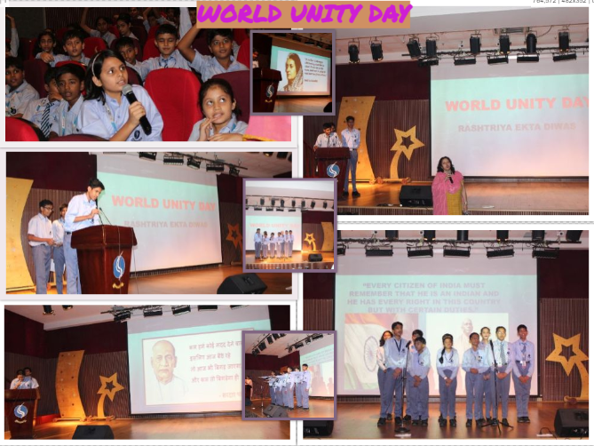 Special Assembly - World Unity Day