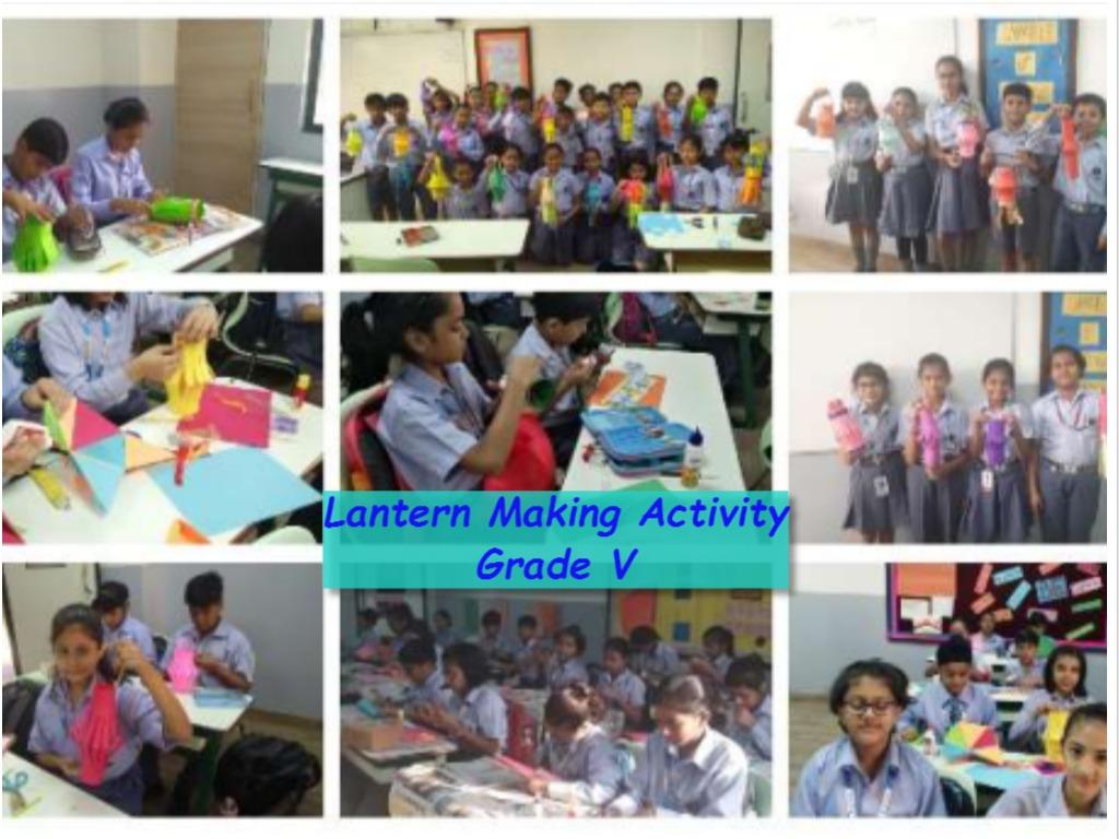 Lantern Making Activity - Grade V