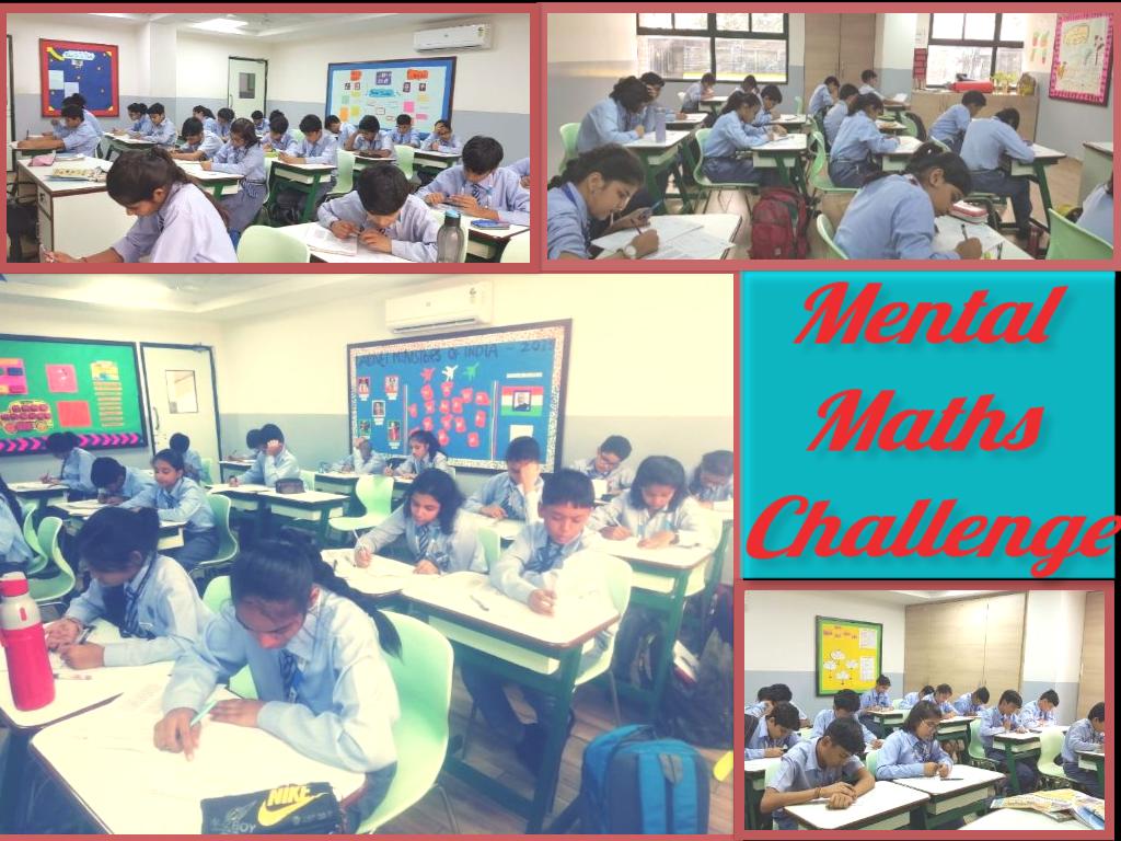 Mental Maths Challenge - Grade VI to VIII