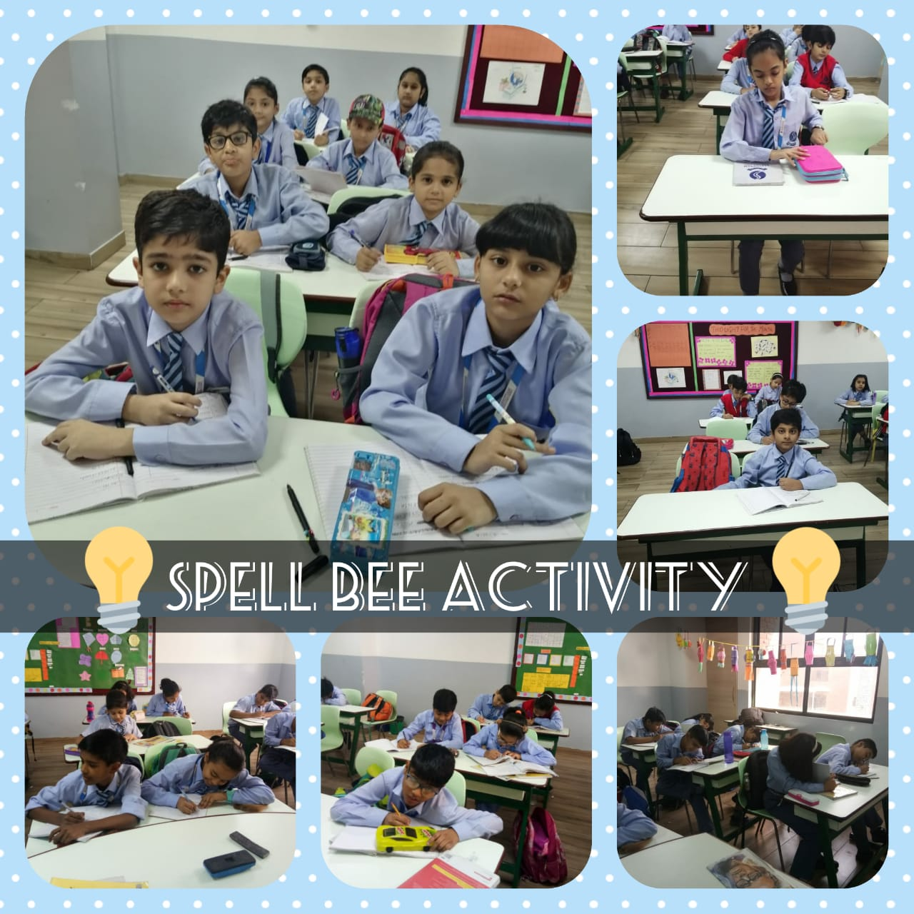 Spell Bee Activity - Grade V