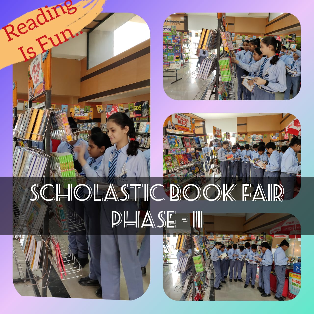 Scholastic Book Fair Phase-II