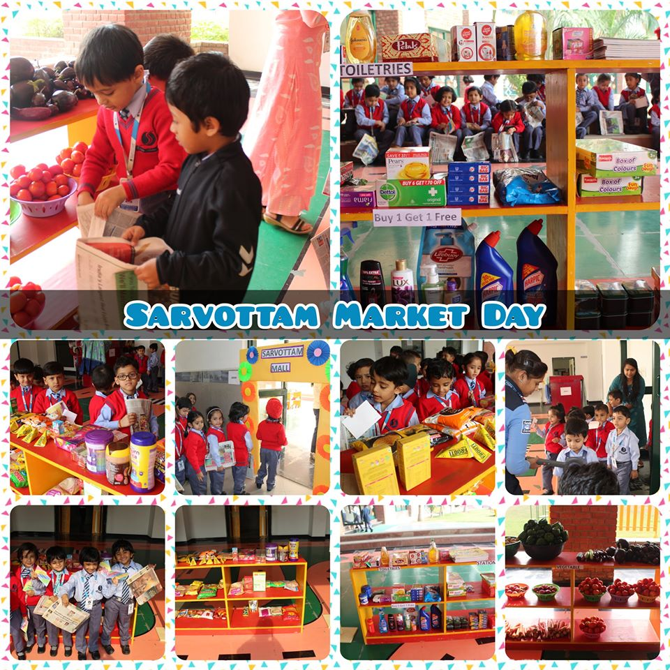 Sarvottam Market Day - Pre-Primary
