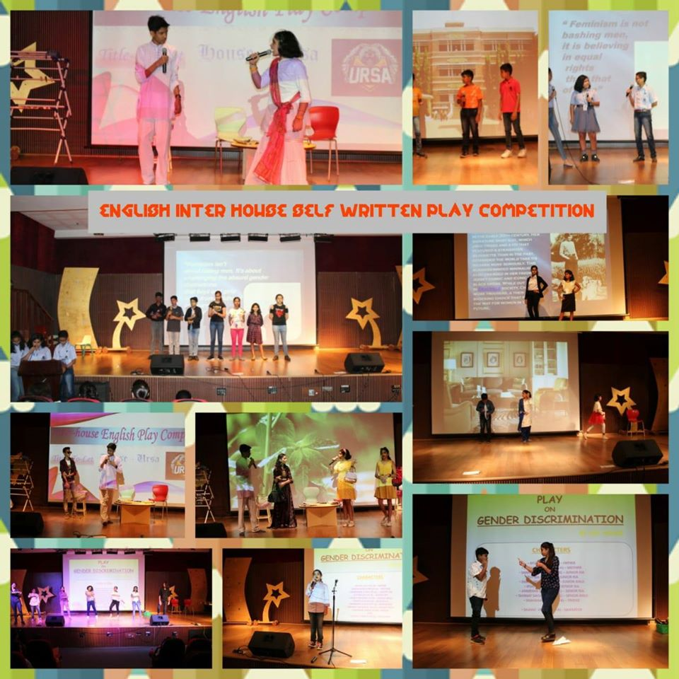 Inter House Self Written English Play Competition