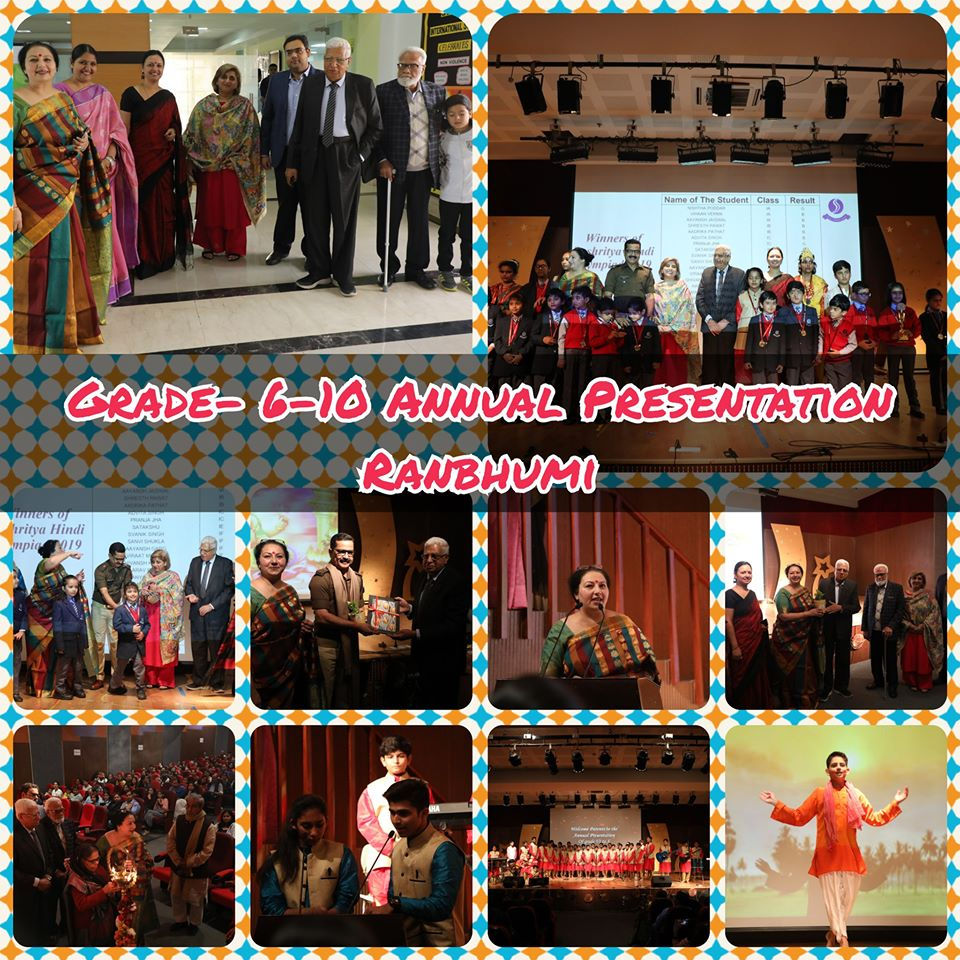 Ranbhumi - Grade VI-X Annual Prsentation