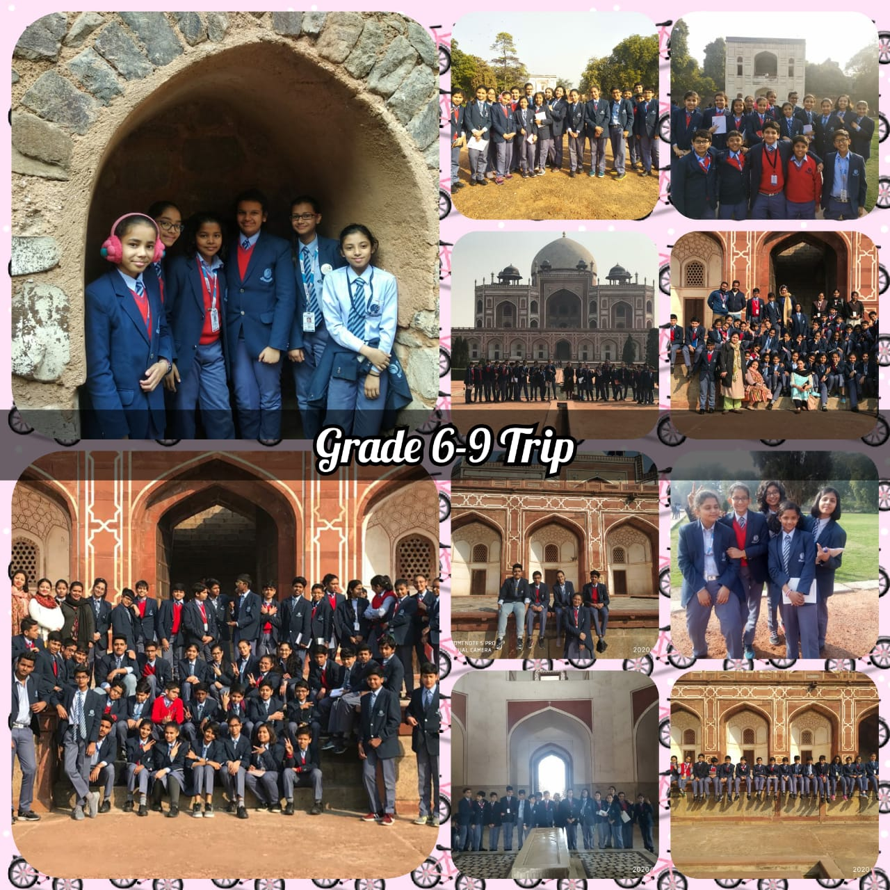 School Trip of Grade VI-IX