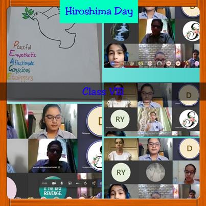 Hiroshima Day Assembly-2020