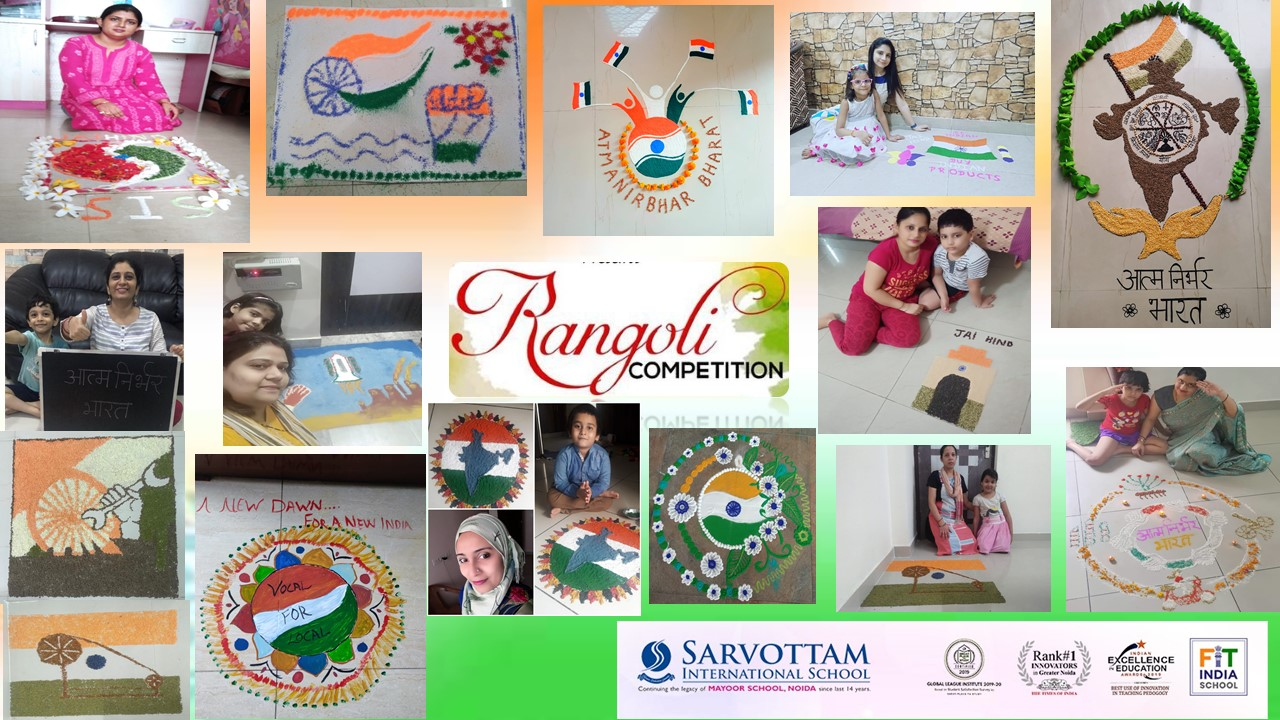 Mother\'s  Rangoli Making Competition-2020