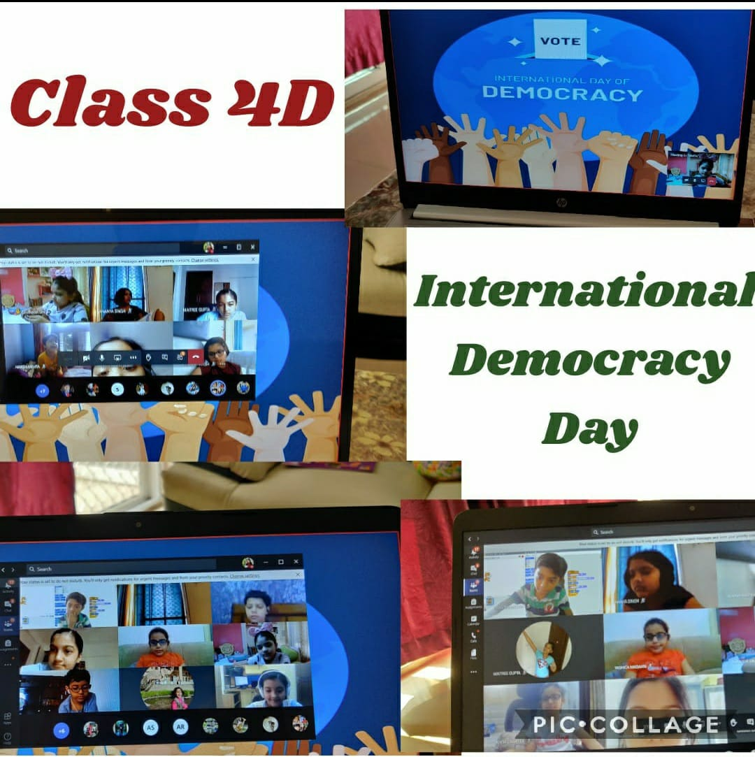 INTERNATIONAL DAY OF DEMOCRACY-2020