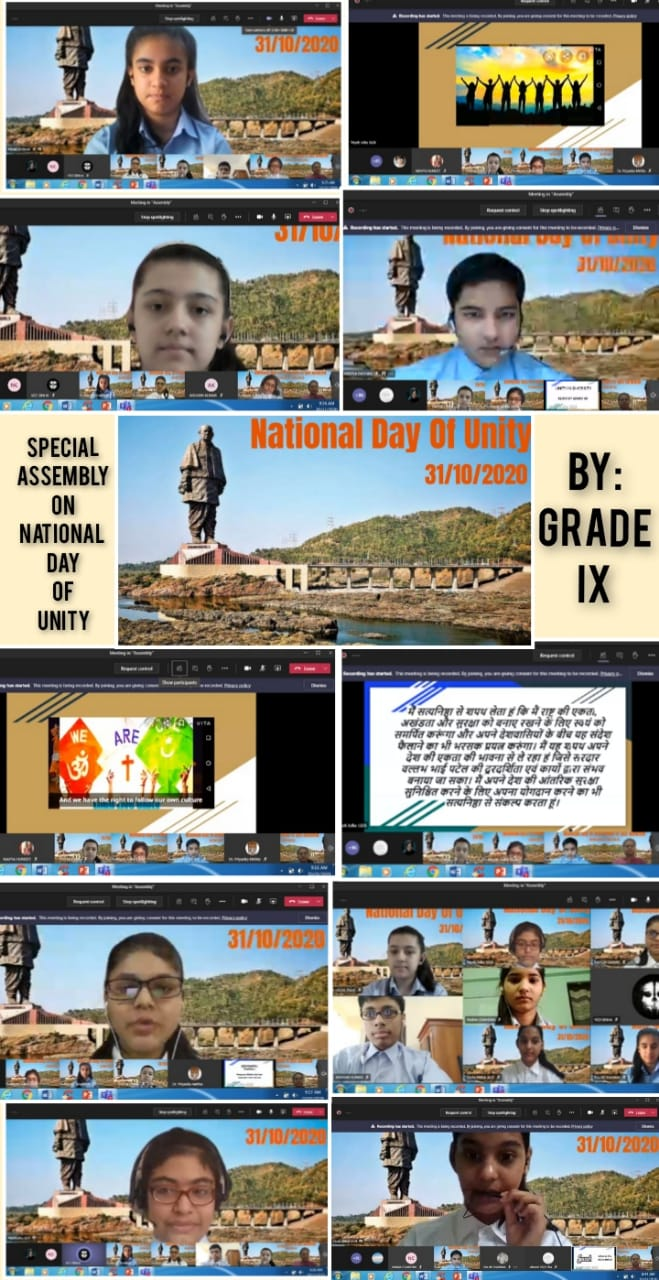 National Unity Day-2020