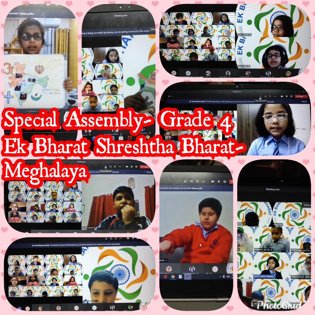 Special Assembly on ËK BAHRAT SHRESTHA BHARAT-2020