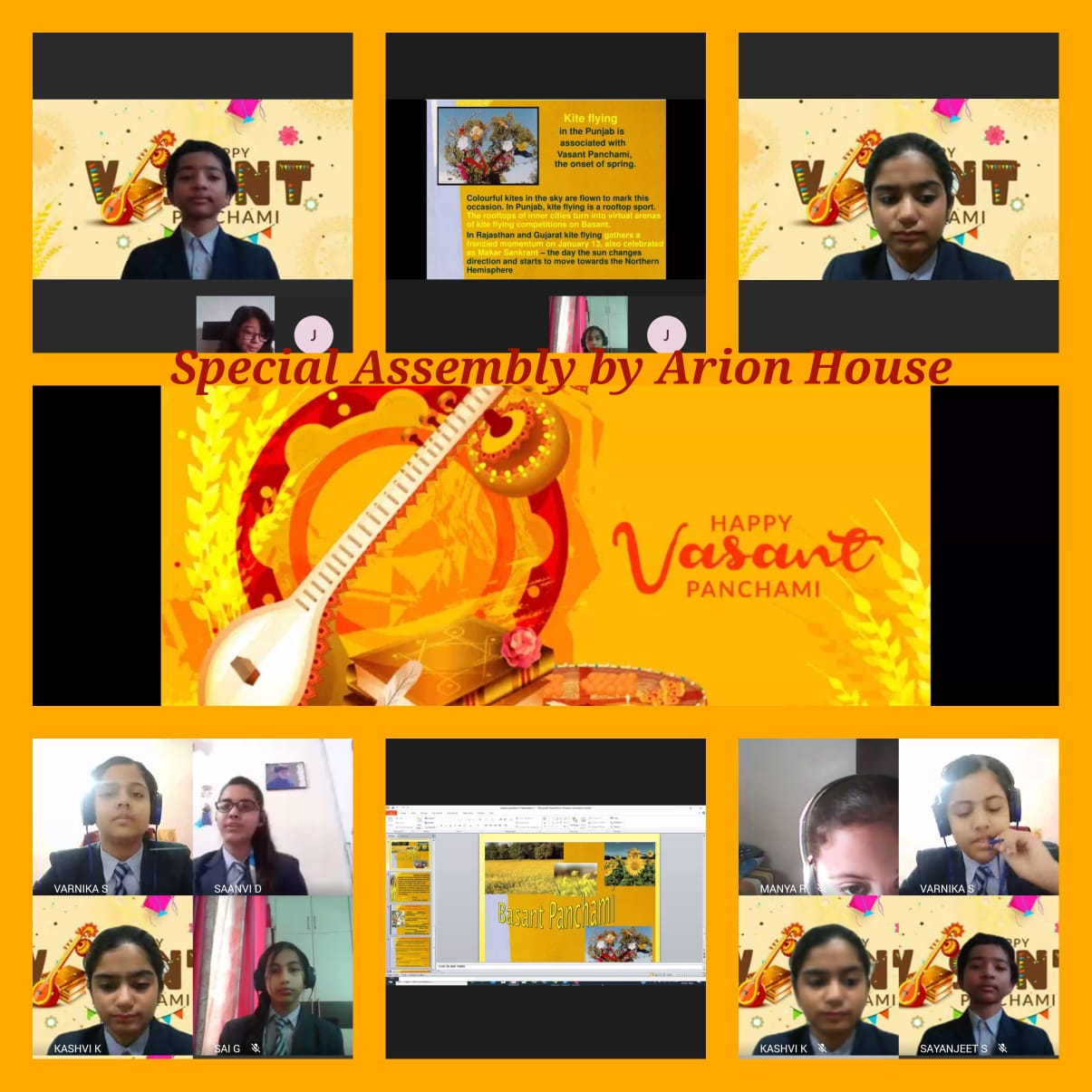 Vasant Panchami Celebration-2021