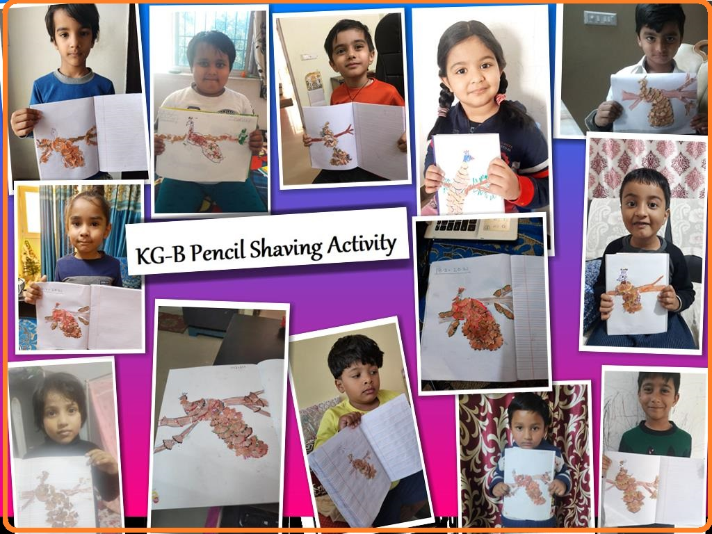 Pencil Shaving Activity-2021