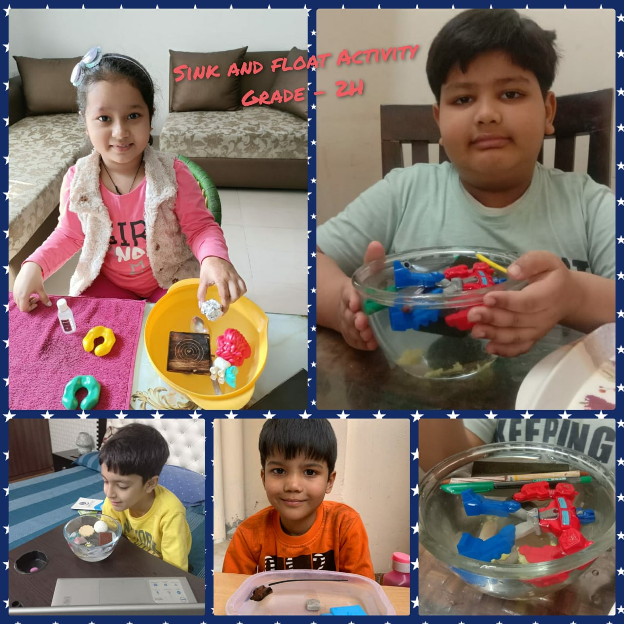 Sink and Float Activity-2021