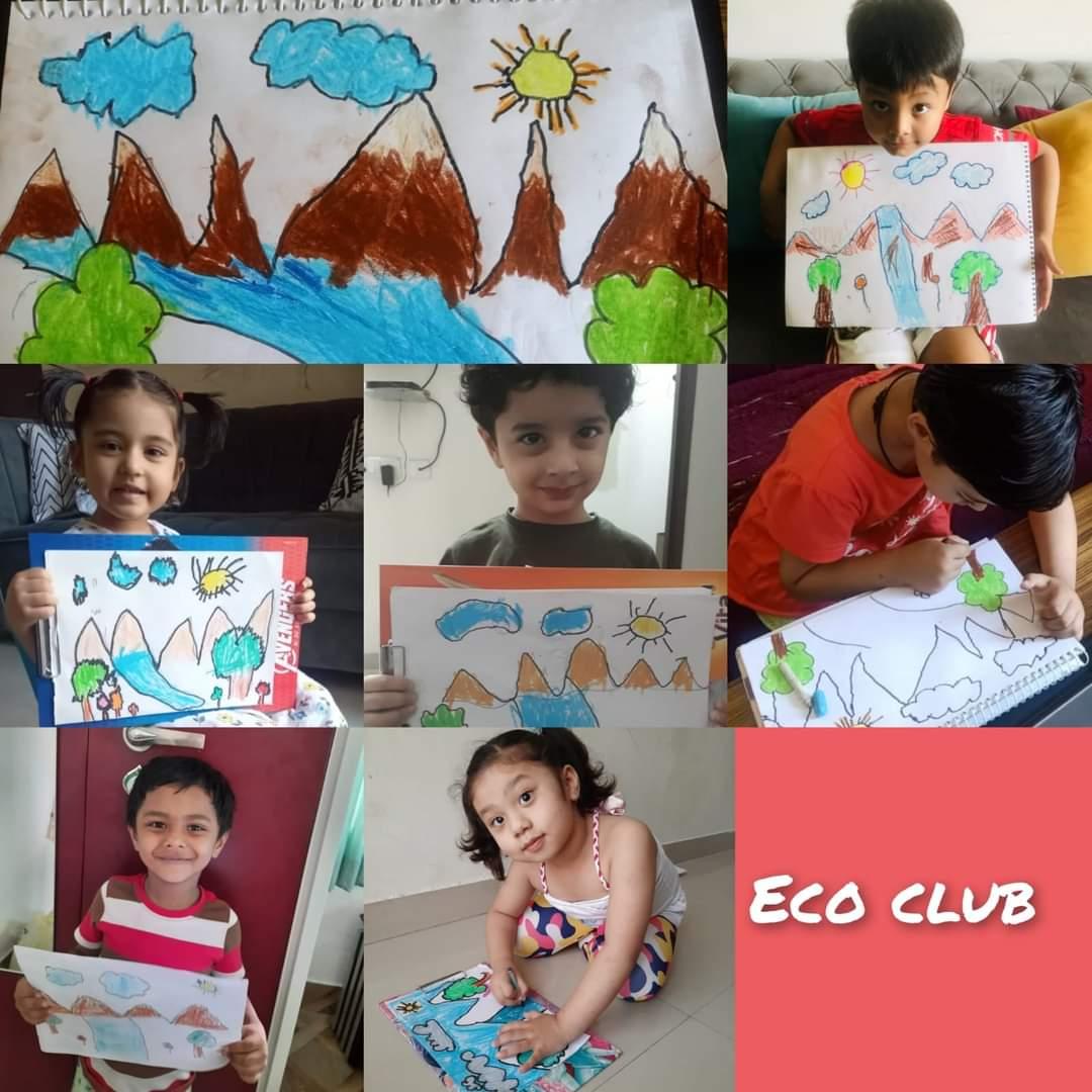 Eco club day 4- waste bin