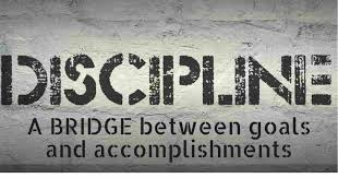 Discipline is not an individual concept only