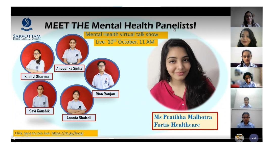 Mental Health Virtual talk show